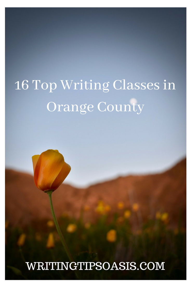 creative writing classes in orange county