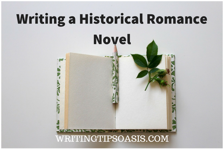 how to write historical romance