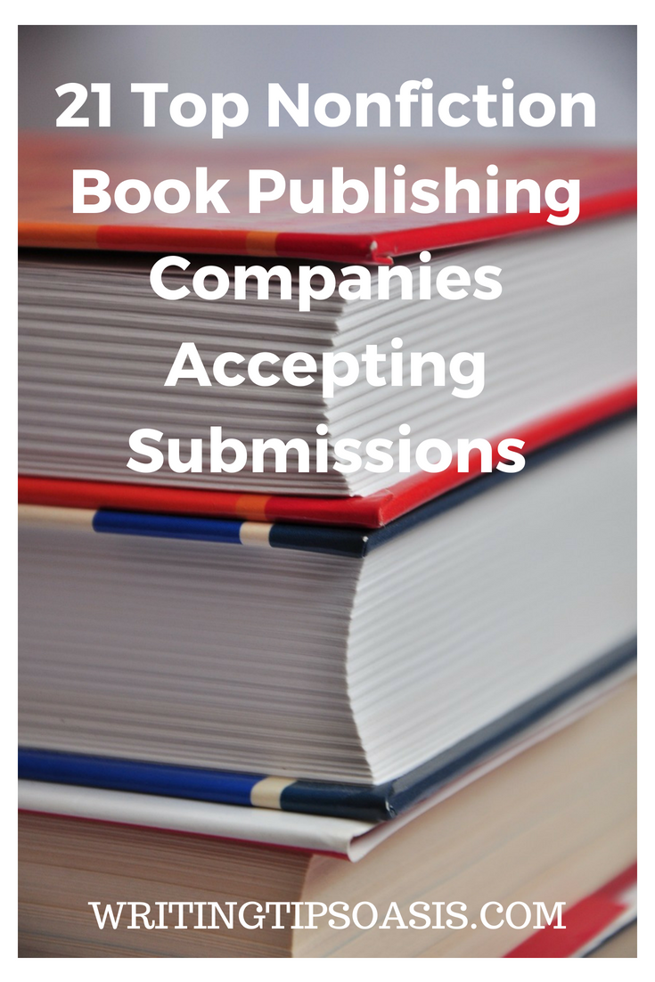 nonfiction book publishers accepting unsolicited manuscripts