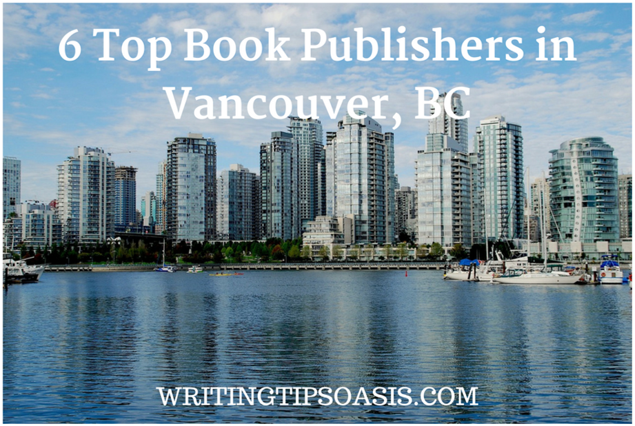 top book publishers in vancouver, bc