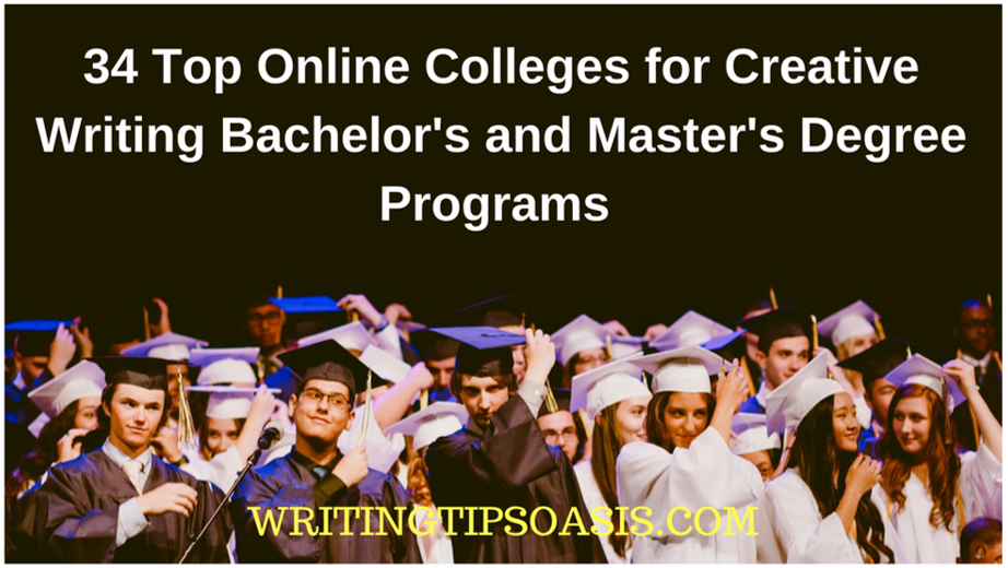 top online colleges for creative writing