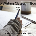 4 Top Writing Classes in Boulder, CO