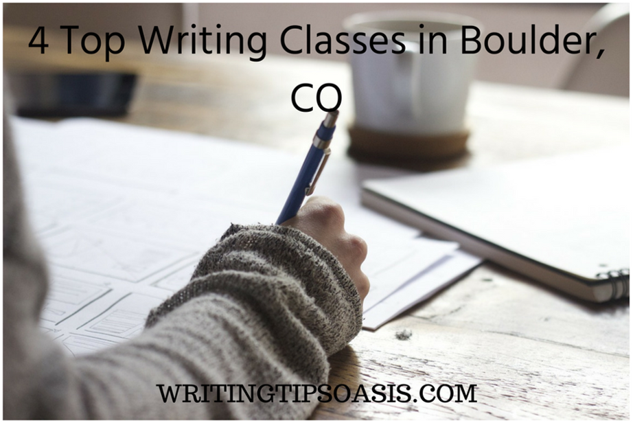 writing classes in boulder, co