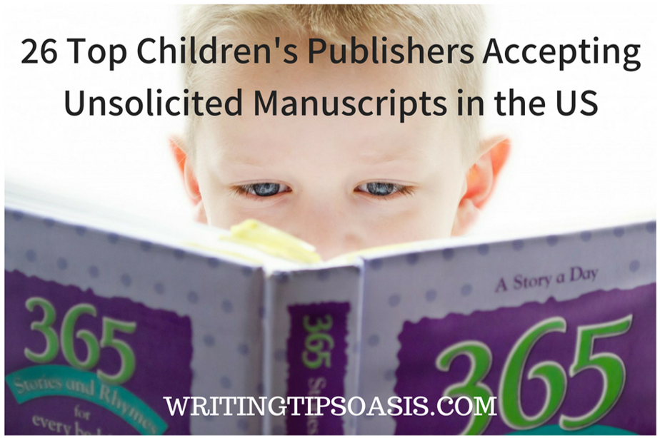 children's publishers accepting unsolicited manuscripts in the us