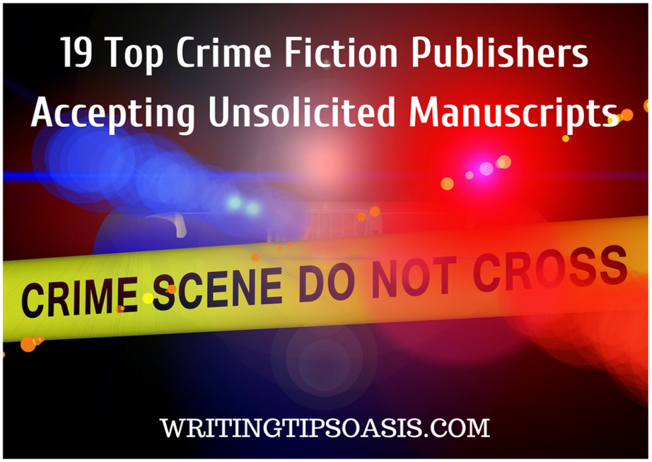 crime fiction publishers accepting unsolicited manuscripts
