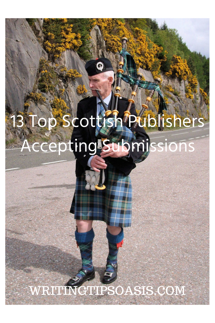 scottish publishers accepting unsolicited manuscripts
