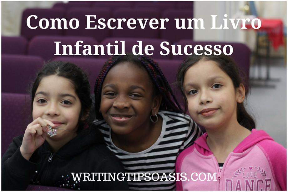 como escrever um livro infantil de sucesso