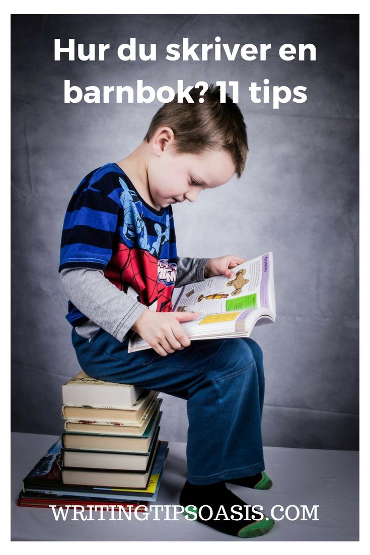 hur man skriver en barnbok