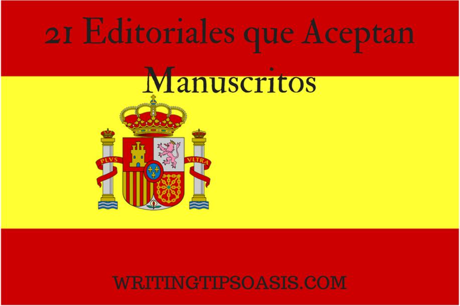 editoriales que aceptan manuscritos
