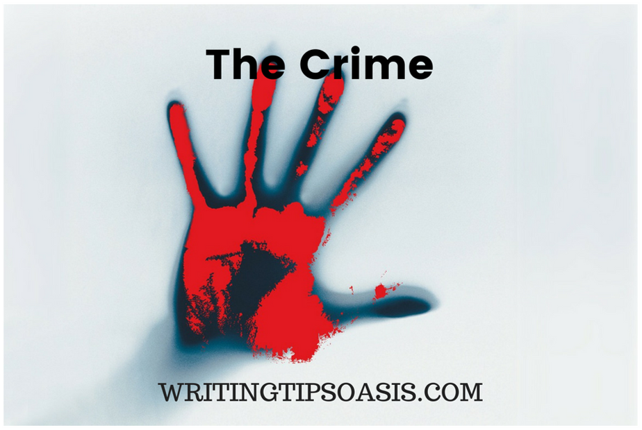 how to write a crime novel