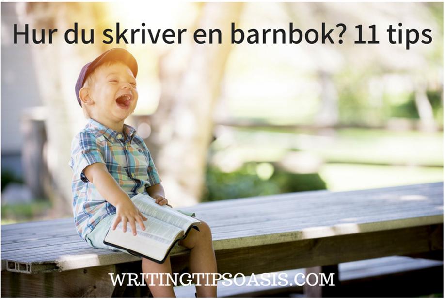 hur du skriver en barnbok