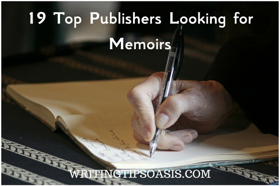 publishers looking for memoirs