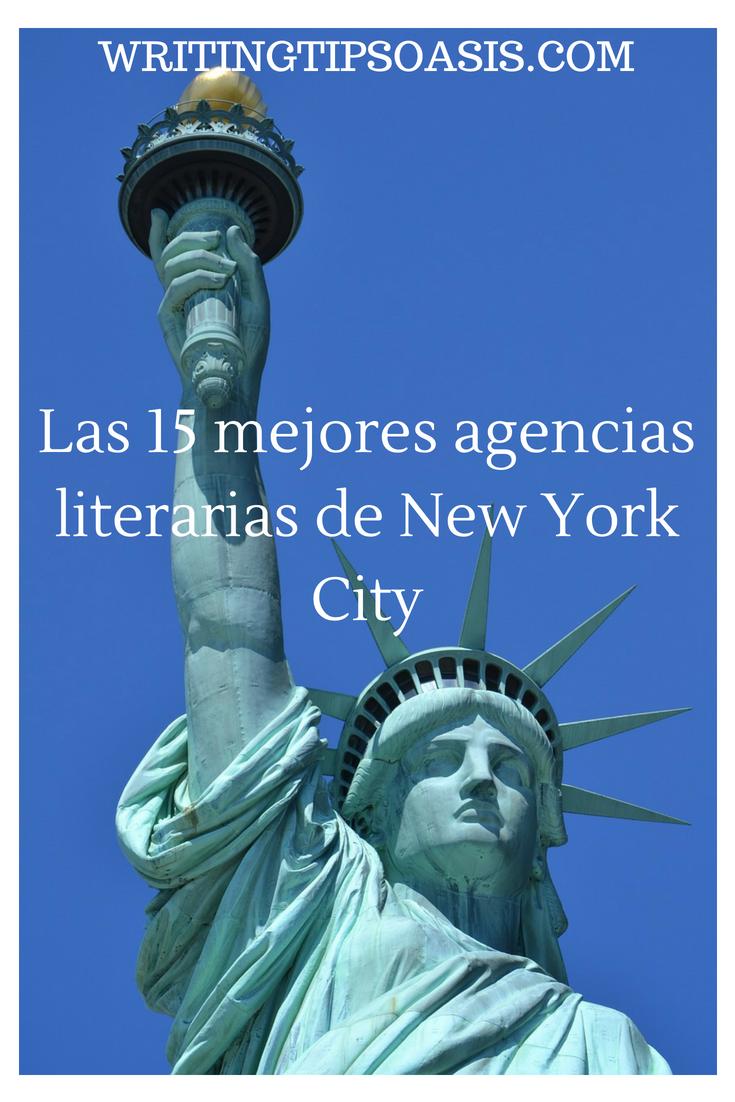 Las 15 mejores agencias literarias de New York City - Writing Tips Oasis