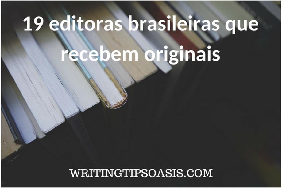 editoras brasileiras que recebem originais
