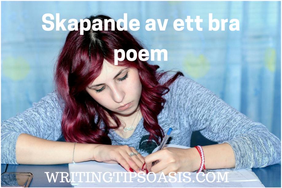 hur man skriver dikter