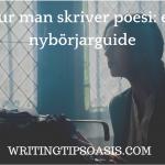 hur man skriver poesi