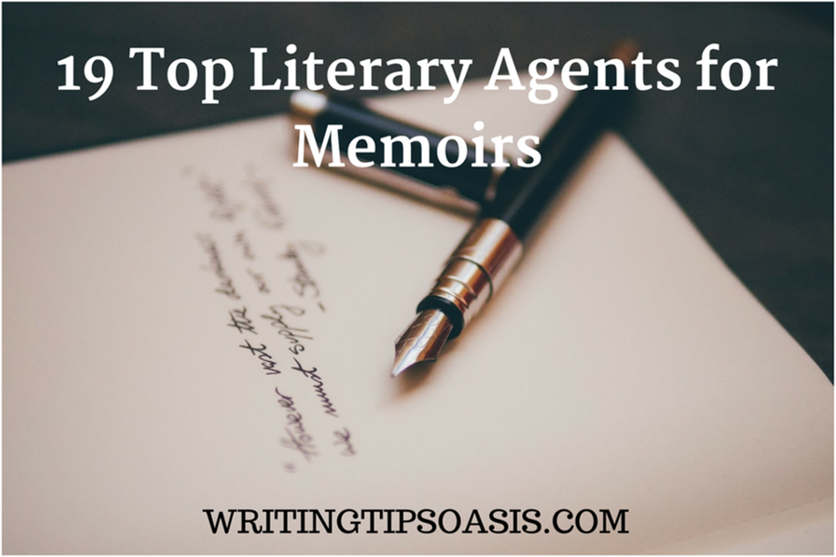 19 Top Literary Agents for Memoirs - Writing Tips Oasis