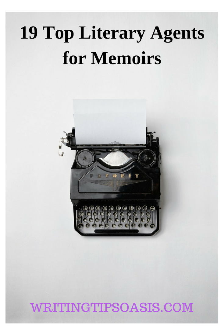 top literary agents for memoirs