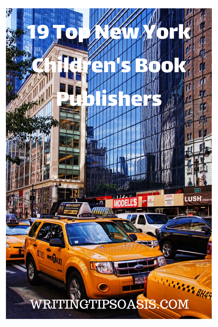 children's book publishers in new york