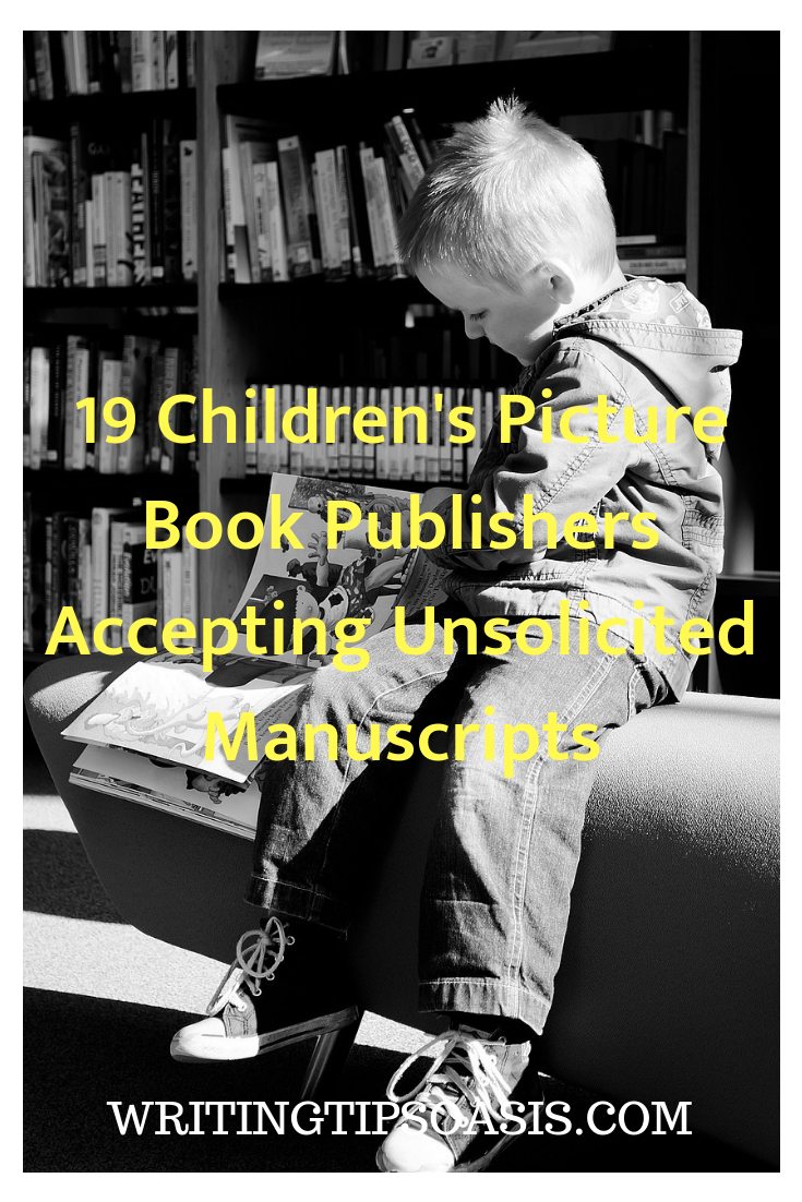 children's picture book publishers accepting submissions