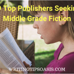 publishers seeking middle grade fiction