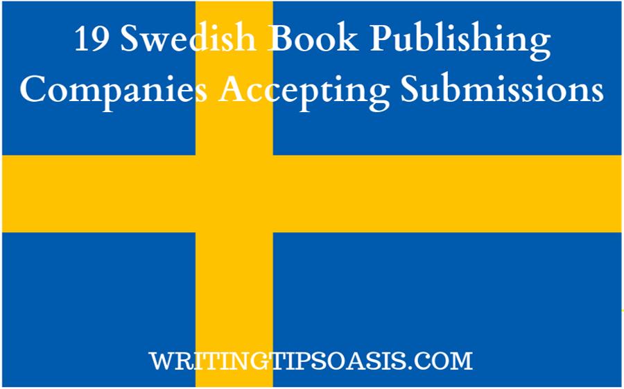 swedish book publishing companies