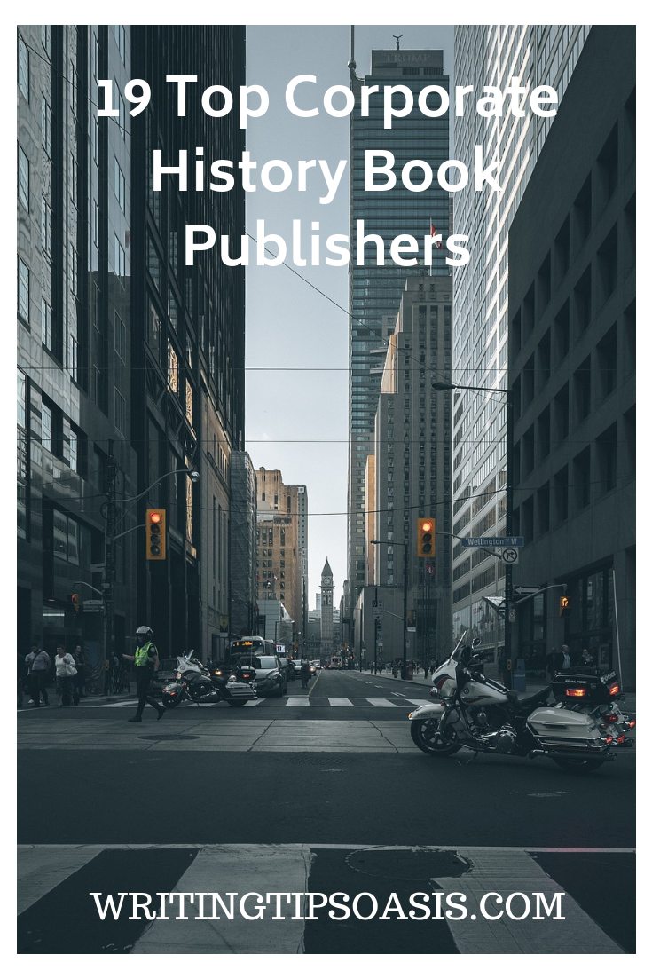 company history book publishers