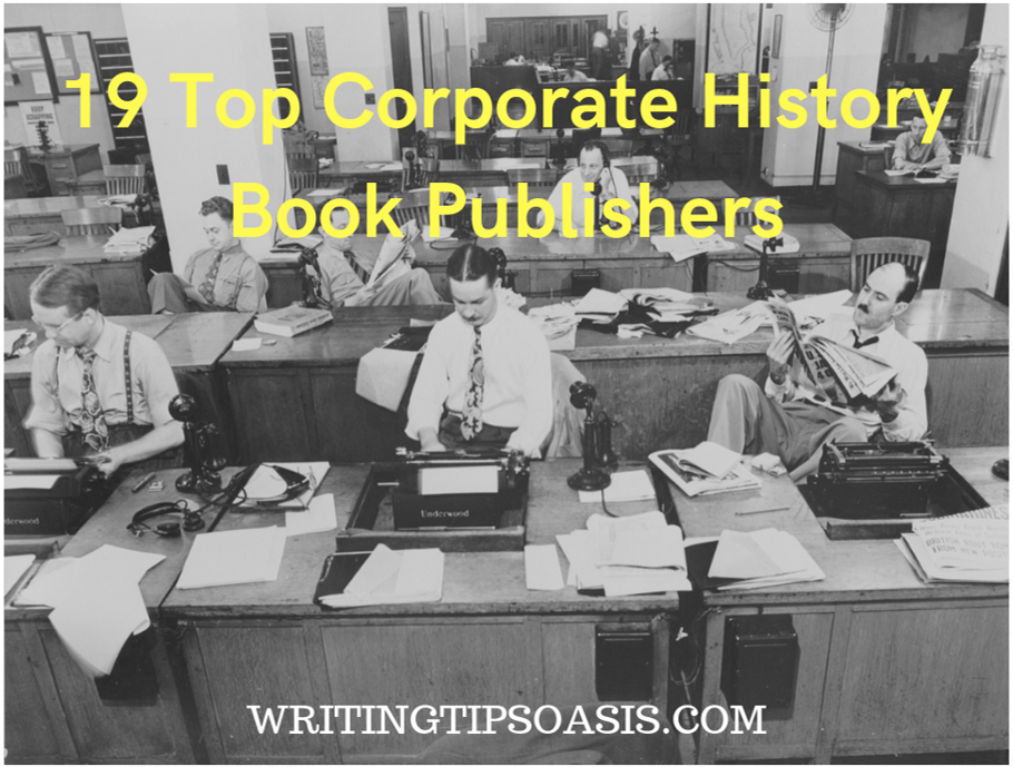 corporate history book publishers