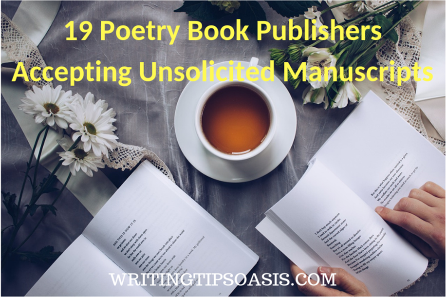poetry publishers accepting unsolicited manuscripts