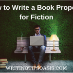 how to write a book proposal for fiction