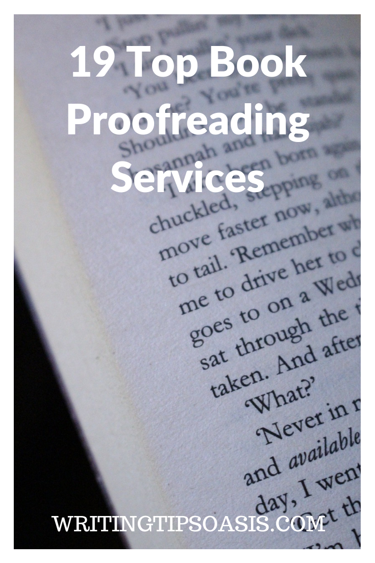book proofreading
