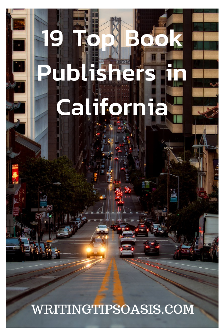 book publishers in california