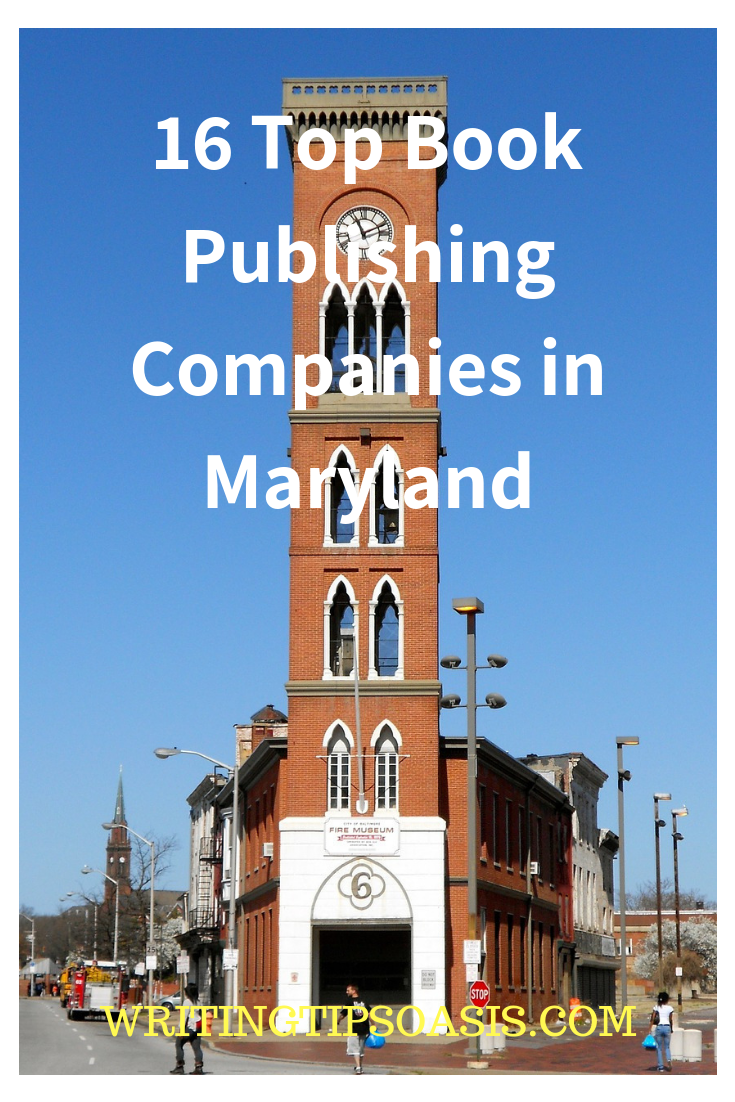 book publishers in maryland