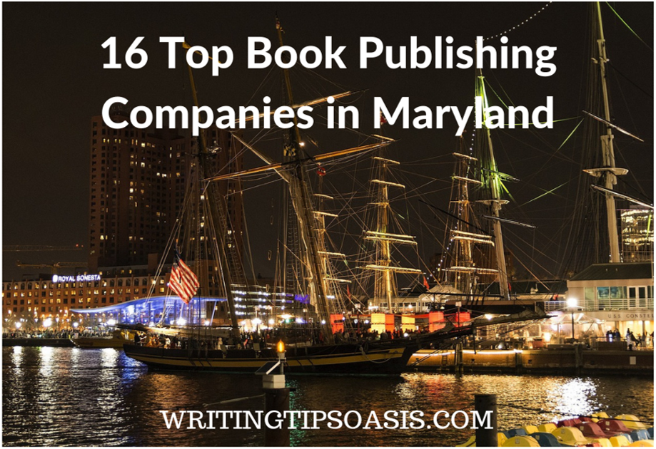 book publishing companies in maryland