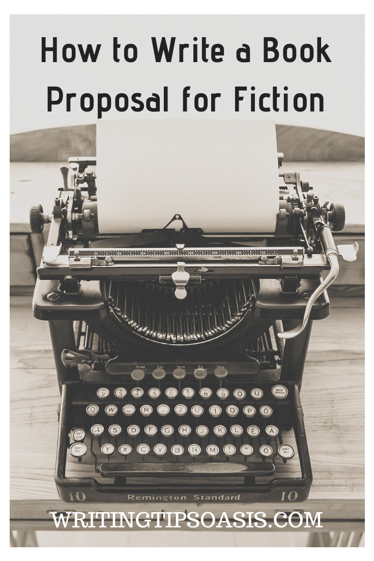 how to write a winning fiction book proposal