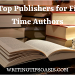 publishers for first time authors