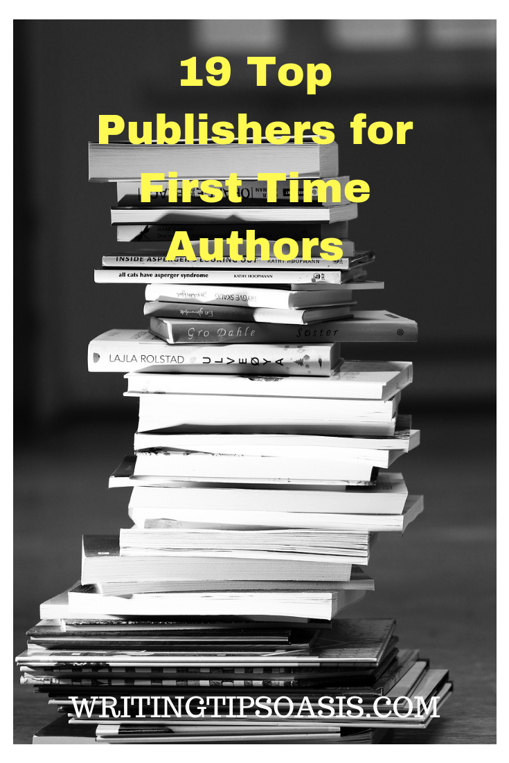 publishing companies for first time authors