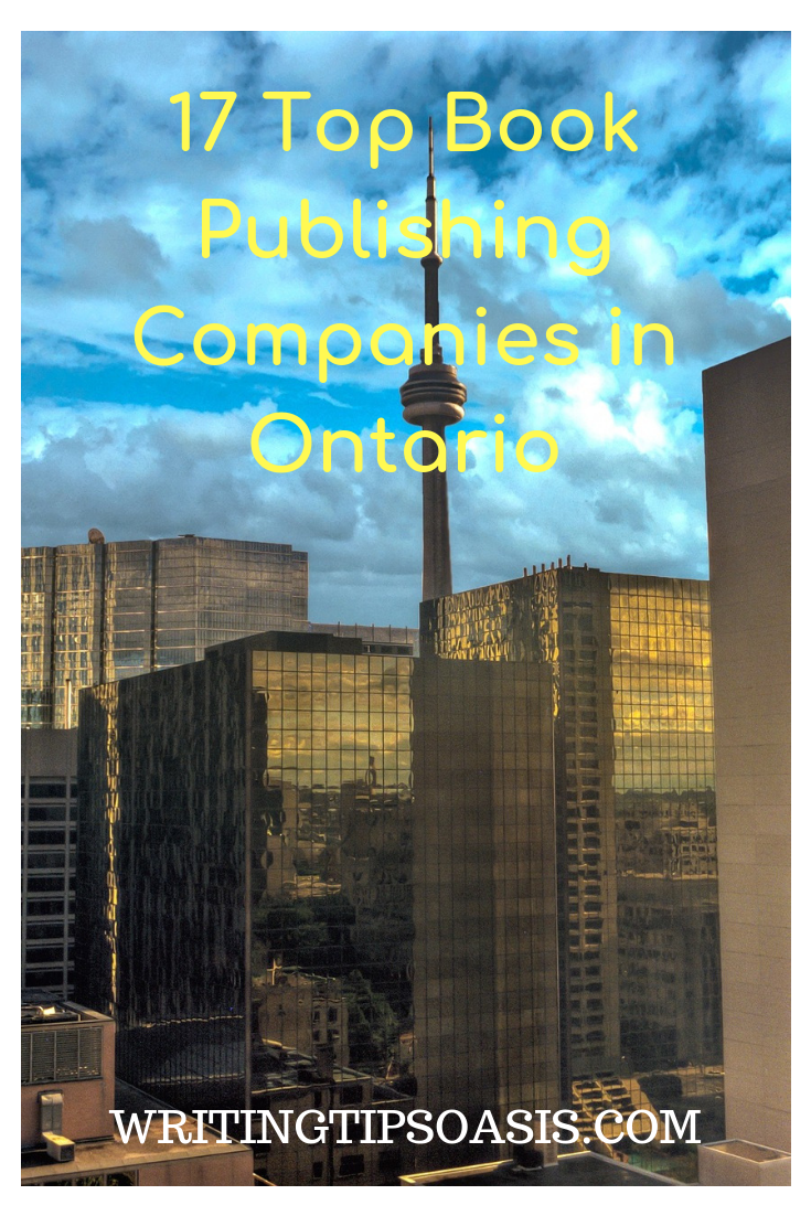 top book publishers in ontario
