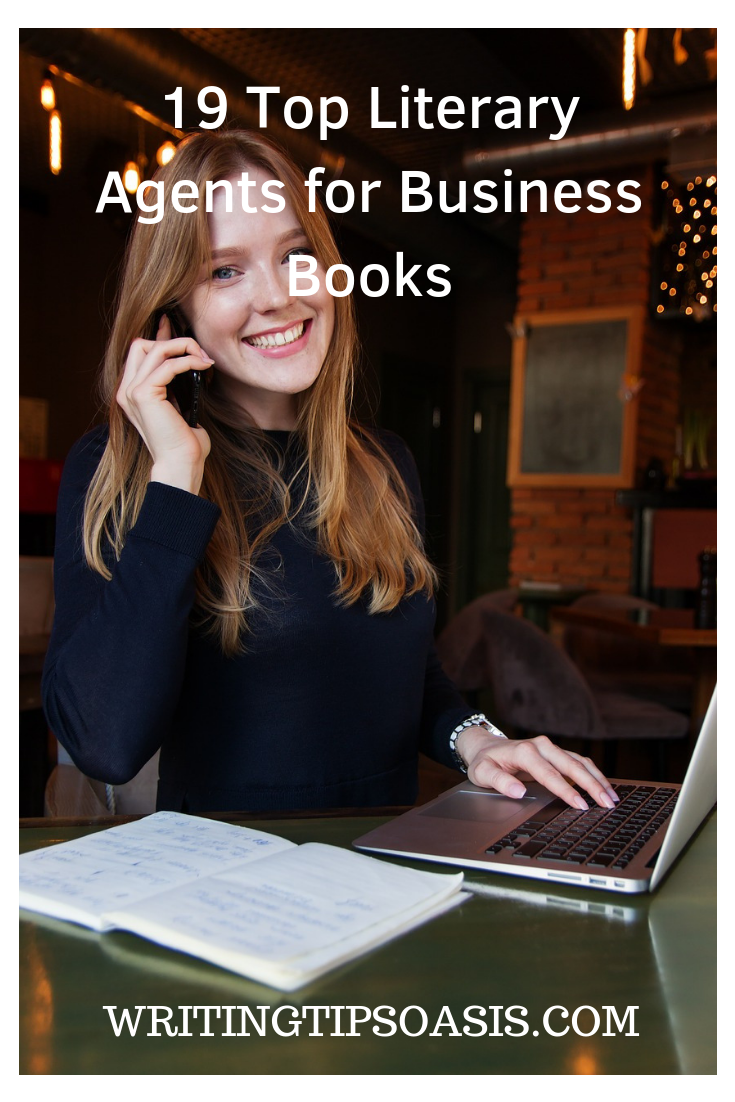 top literary agents for business books