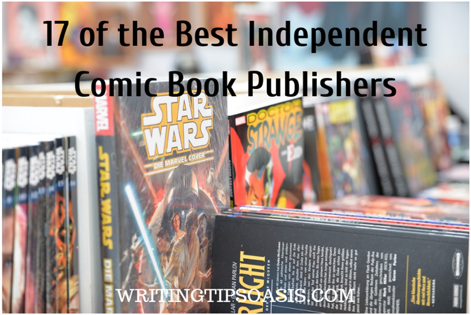 best independent comic book publishers