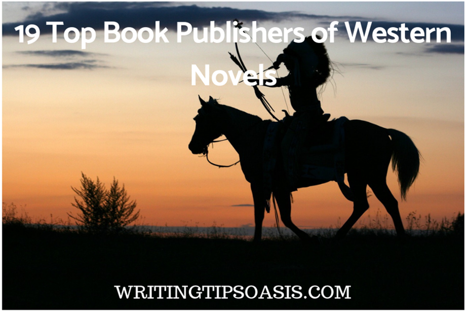 book publishers of western novels