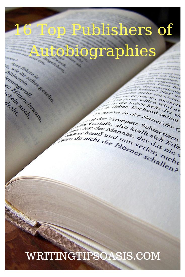 autobiography publishers