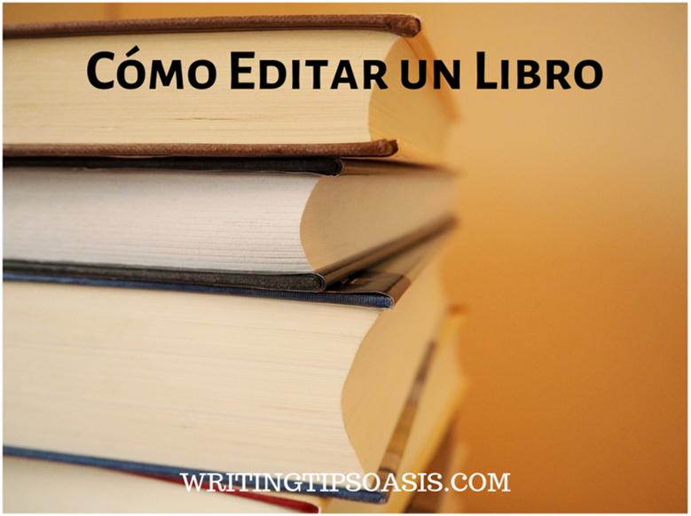 cómo editar un libro