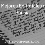 mejores editoriales de poesía
