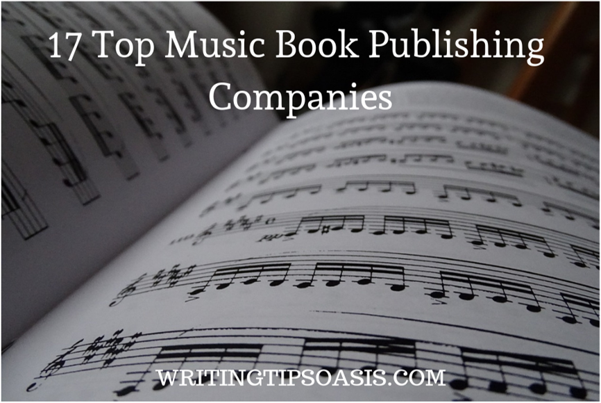 music book publishing companies