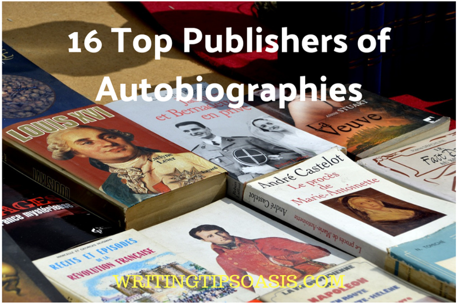 publishers of autobiographies