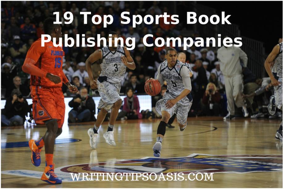 sports book publishing companies