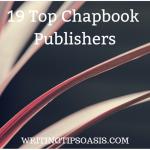 top chapbook publishers
