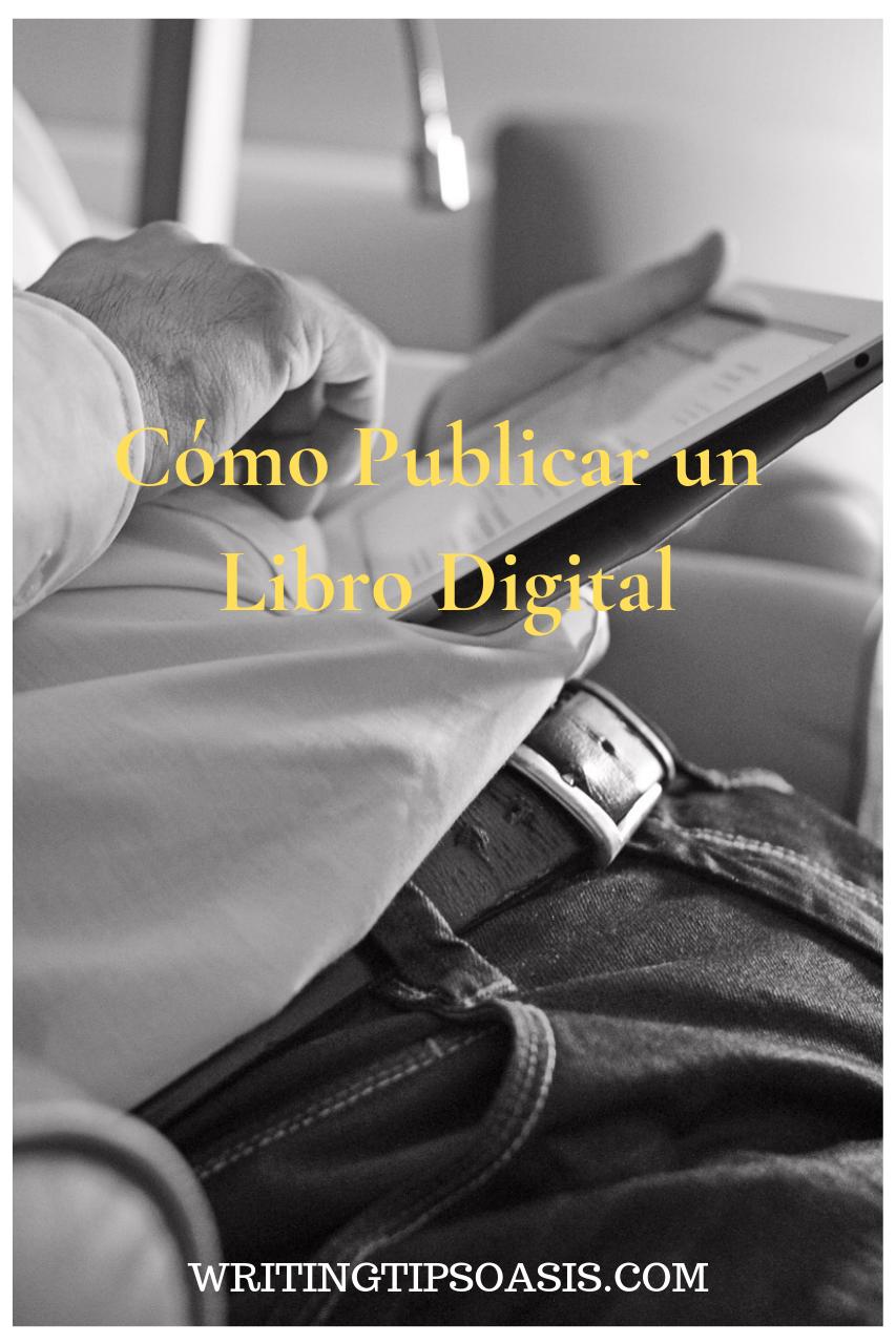 como publicar un libro digital