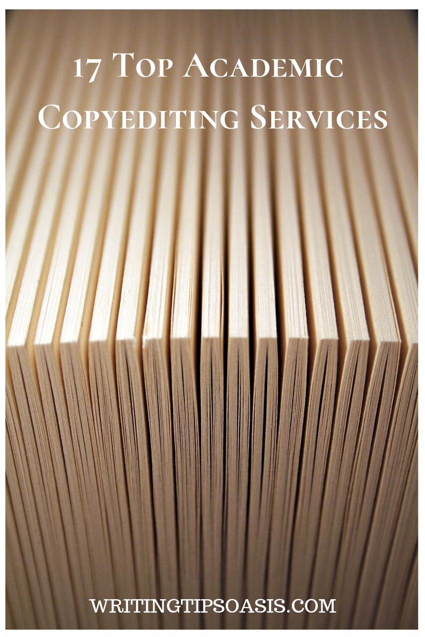 academic copy editing services